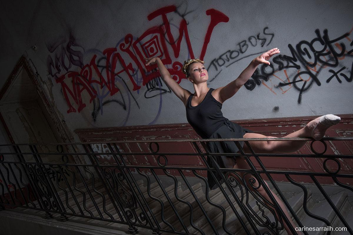 Danseuse urbex