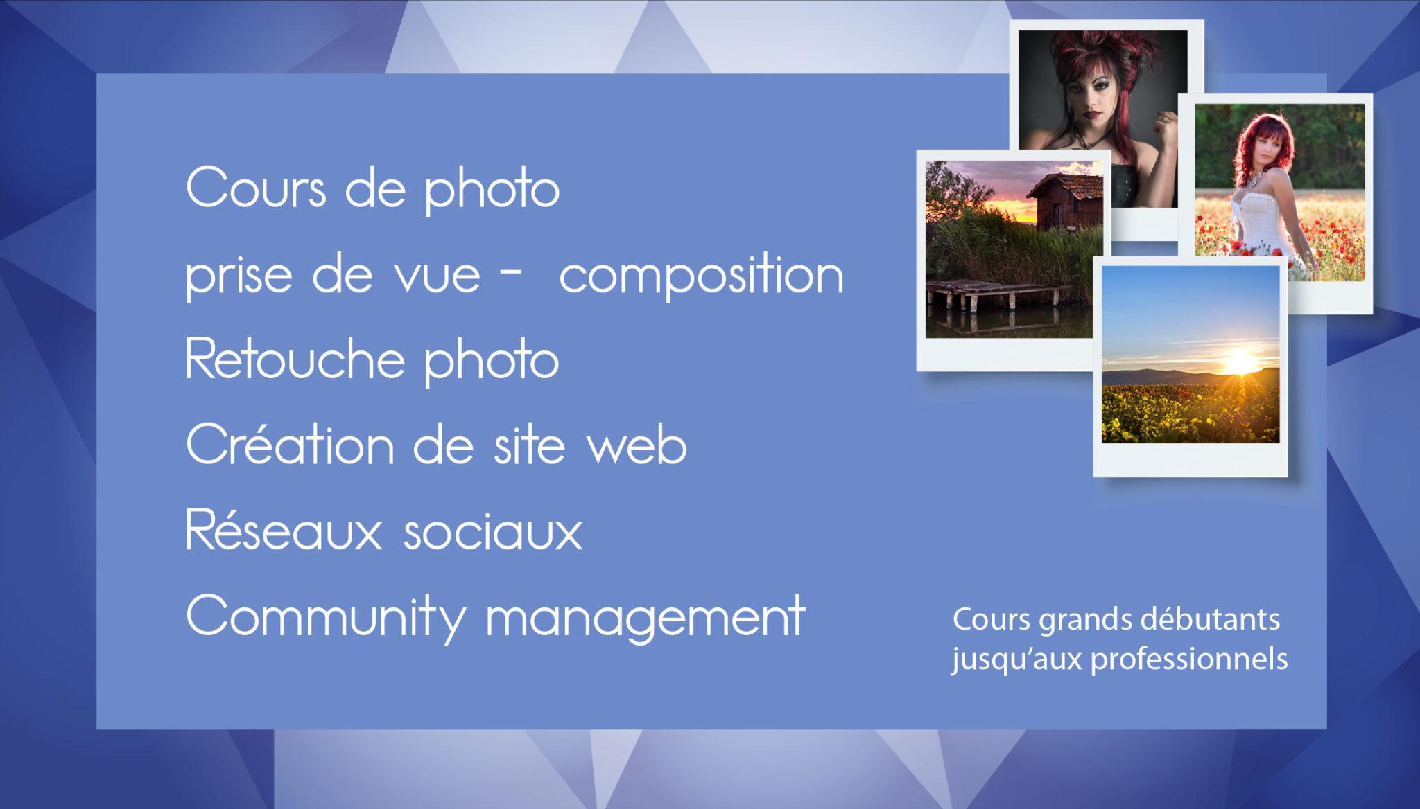 Atelier photo du Pic